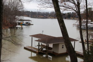 View from the balcony, Smith Mountain Lake