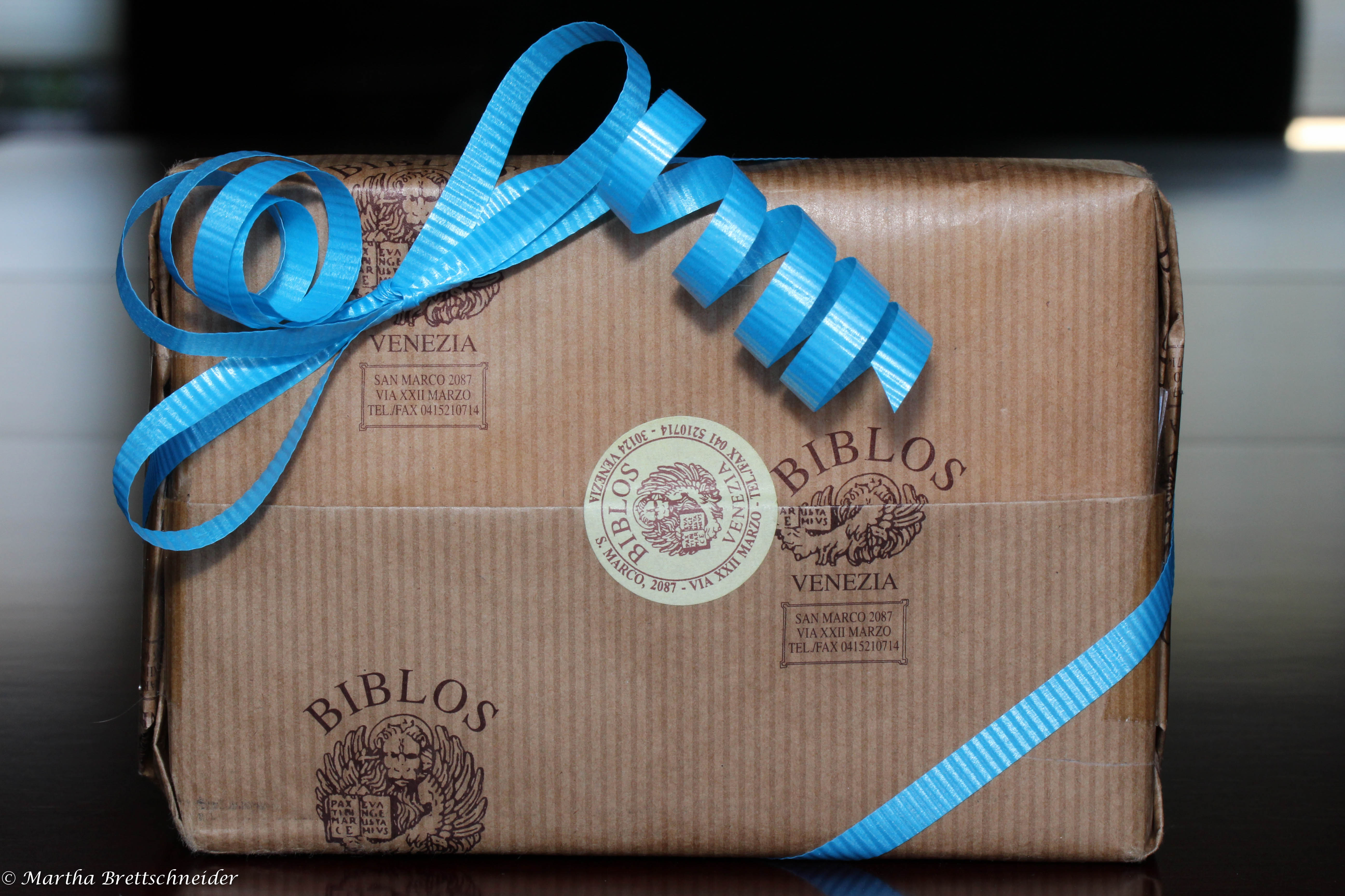 brown paper package