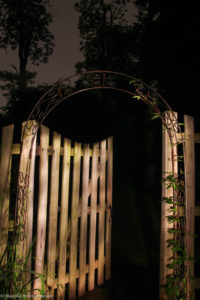 g is for garden gate